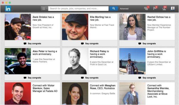 LinkedIn management